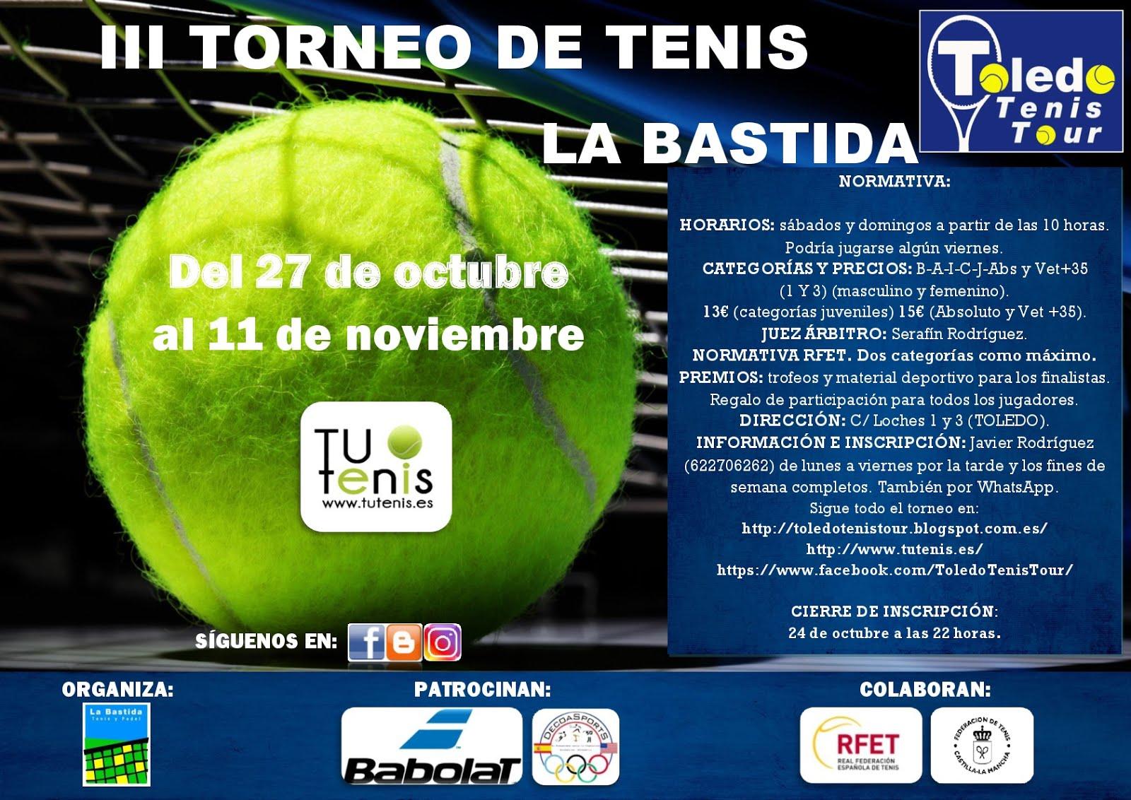Cartel III Torneo de Tenis La Bastida 2018-001 (1)